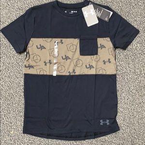 UNDER ARMOUR Boys Shirt M or L NWT